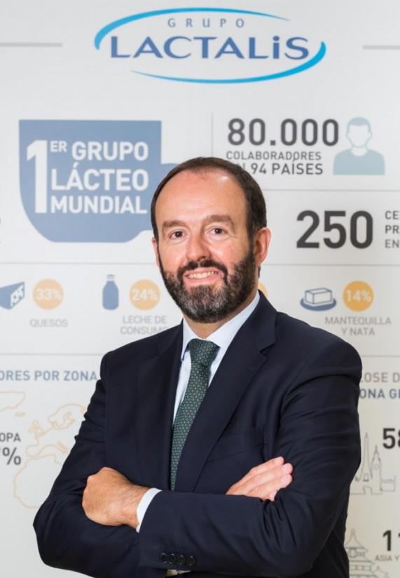 Ignacio Elola, nuevo CEO  del grupo Lactalis Iberia y director general de la quesera Forlasa