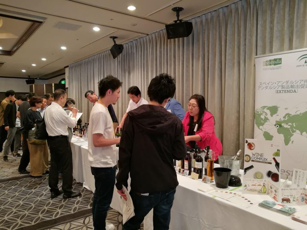 Japón es ya el décimo mercado exterior del vino andaluz
