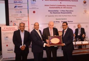 Arvind Poddar, presidente de BKT, distinguido con el premio al Mejor Líder Transformador