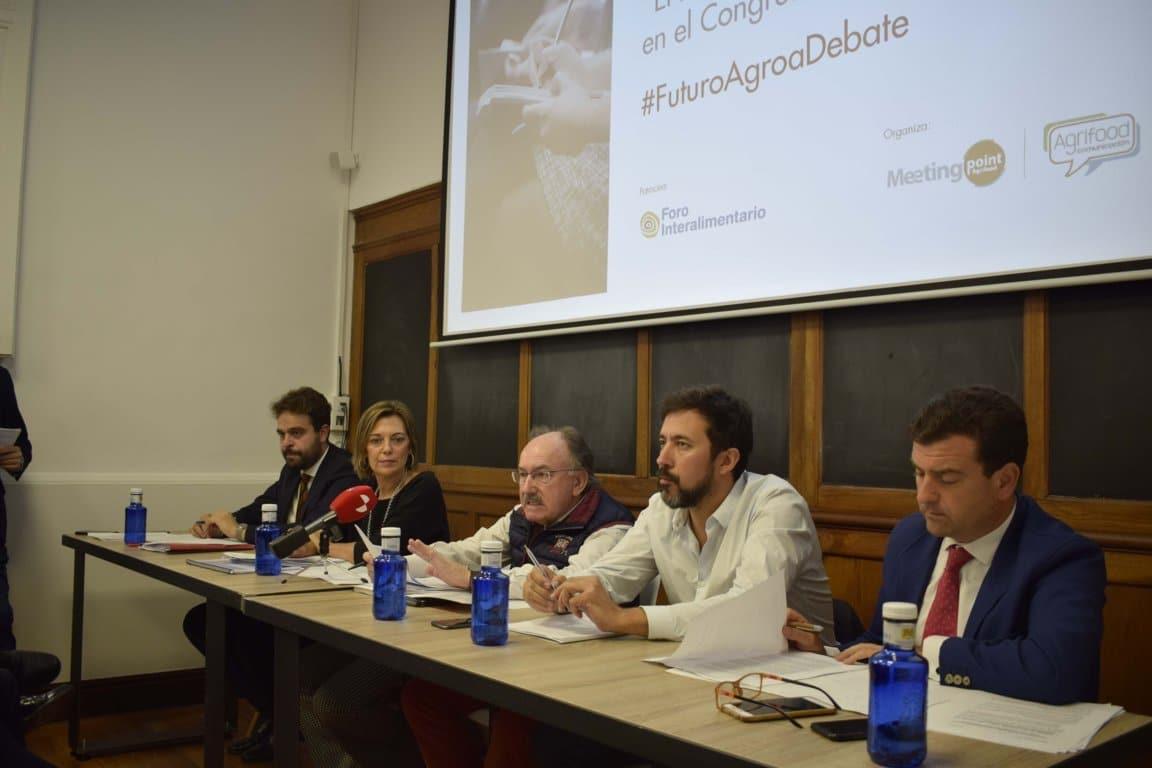 Las cinco principales fuerzas políticas del Congreso debaten sobre el futuro del sector agroalimentario y del medio rural