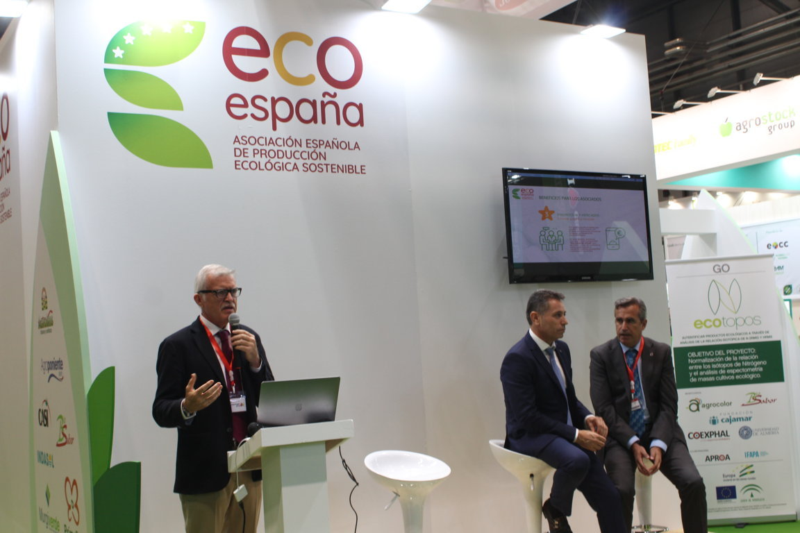 EcoEspaña se presenta en Fruit Attraction para impulsar la agricultura ecológica
