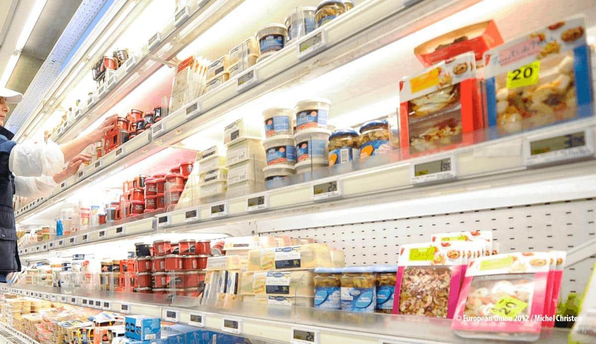 La alimentación bajó un 0,3% sus precios de consumo del IPC en los nueve primeros  meses de 2019