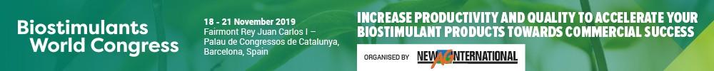 Biostimulants Congress'19 Sup 14-17/nov