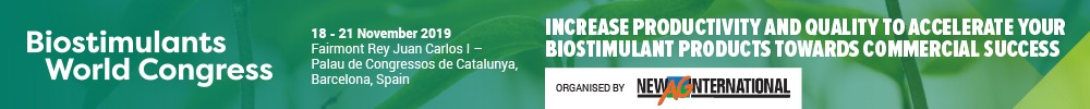 Biostimulants Congress'19 Sup 14-17/nov