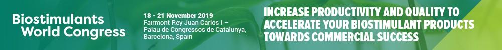Biostimulants Congress'19 Sup 24-27/oct