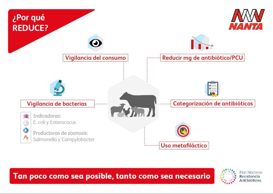 Nanta se suma a la iniciativa voluntaria de reducción de los antibióticos