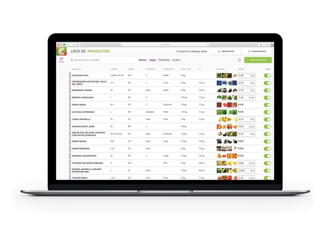 Nace Consentio, plataforma digital para la compraventa de frutas y hortalizas