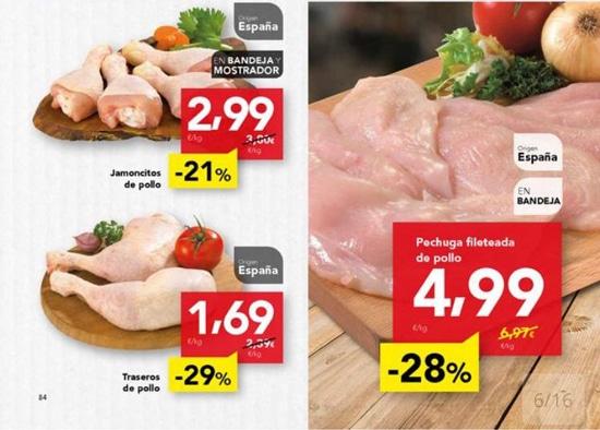 Denuncias ante AICA por venta a pérdida de carne de pollo y renegociación a la baja de contratos de caqui
