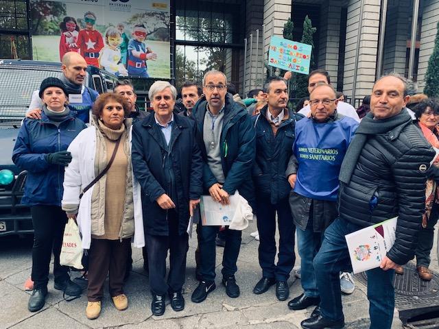 Fesvet trasmite a Pedro Sánchez las reivindicaciones del 17N