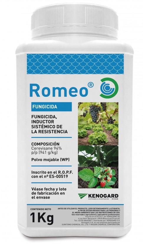 Romeo, el nuevo fungicida ecológico inductor de las defensas naturales de la planta de Kenogard