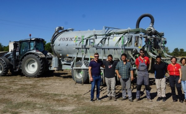 Cisterna de purín Joskin Komfort2, un equipo para agricultores profesionales