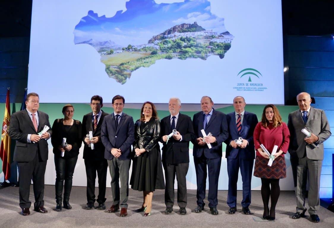Andalucía entrega sus XIV Premios Agricultura y Pesca