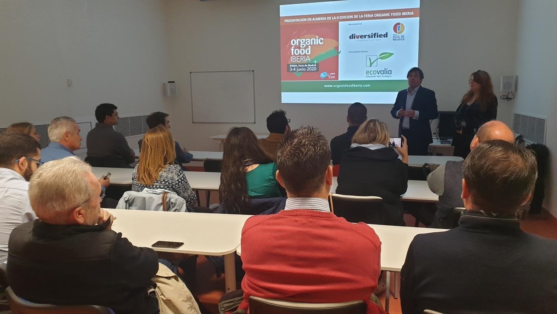Ecovalia respalda la presentación de Organic Food Iberia en Almería