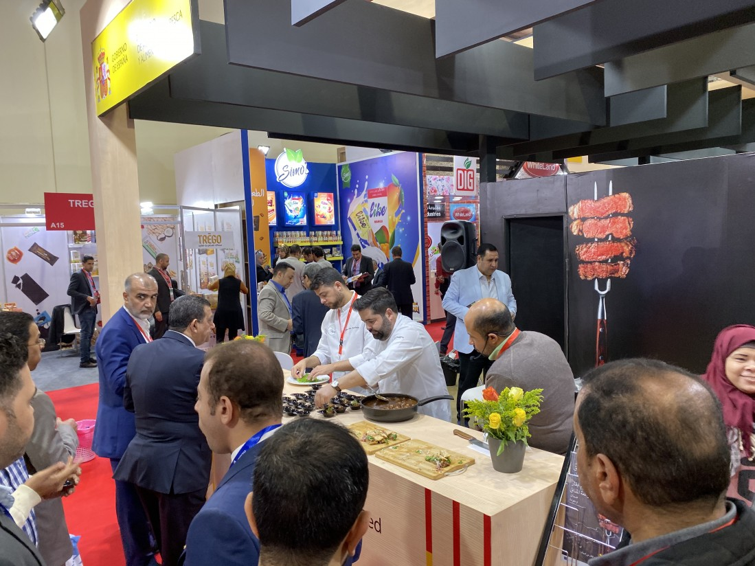 Provacuno participa por primera vez en la Food África de El Cairo