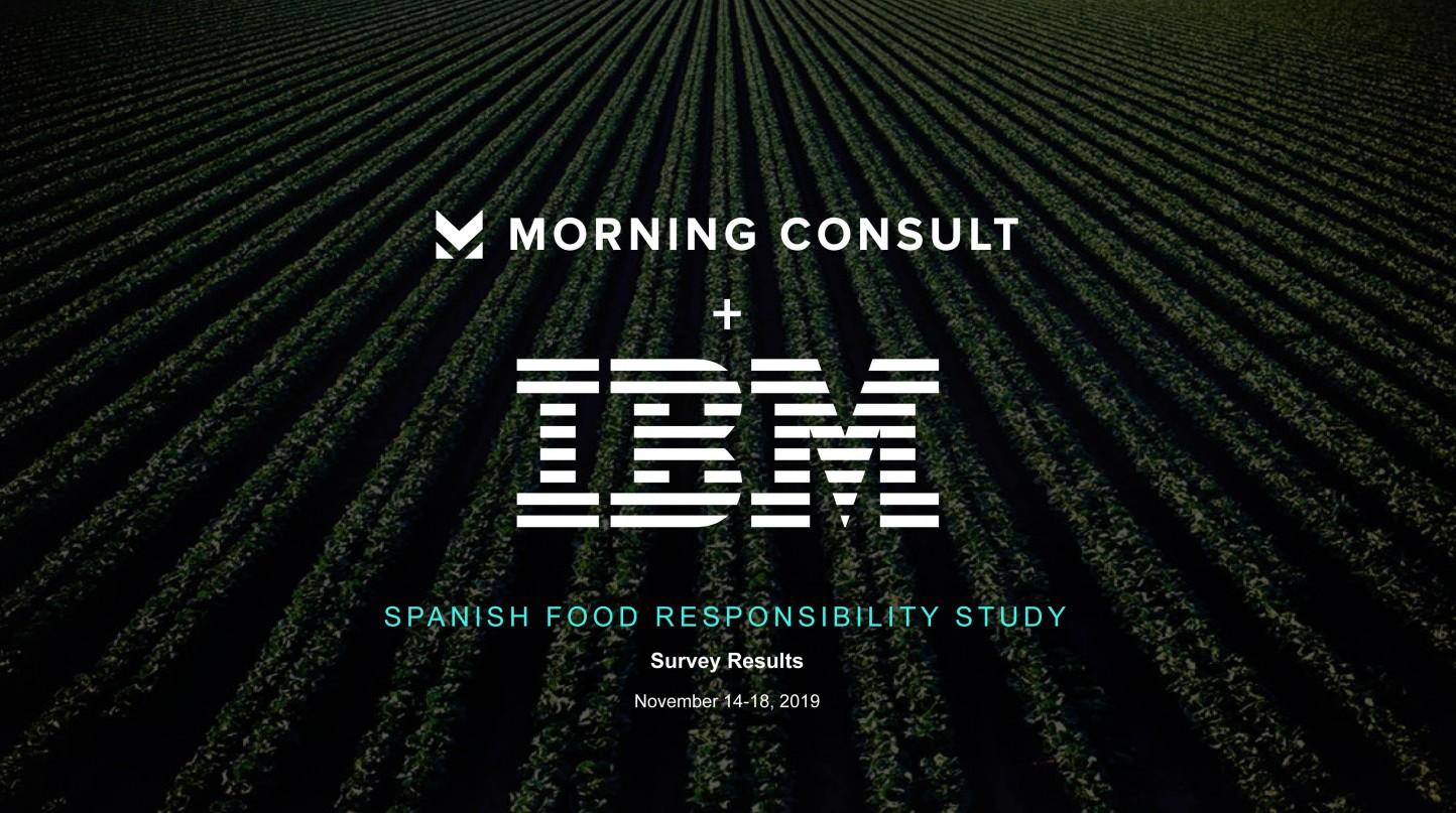 """Los españoles, preocupados por la producción """"ética"""" de los alimentos, según un estudio para IBM"""