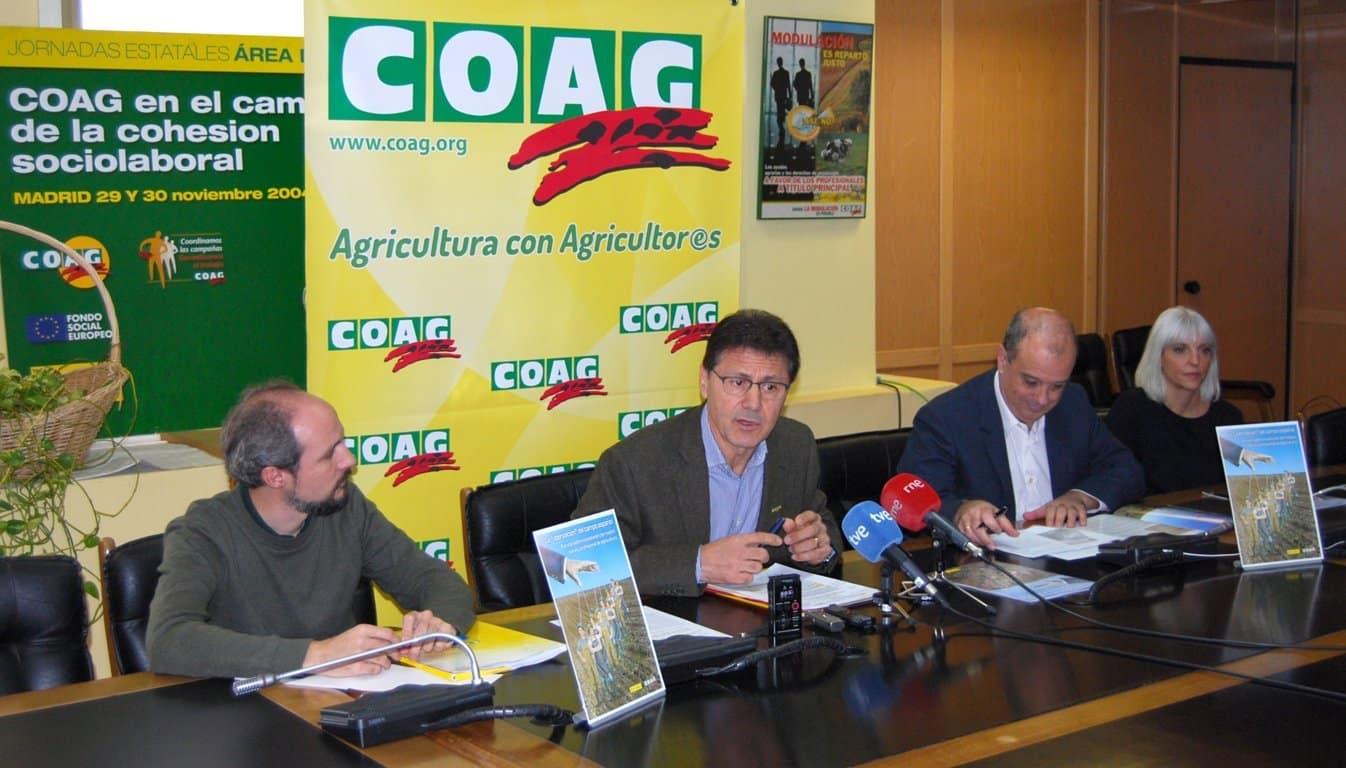 COAG denuncia la progresiva «uberización»  del campo español a través de oligopolios y fondos  de inversión
