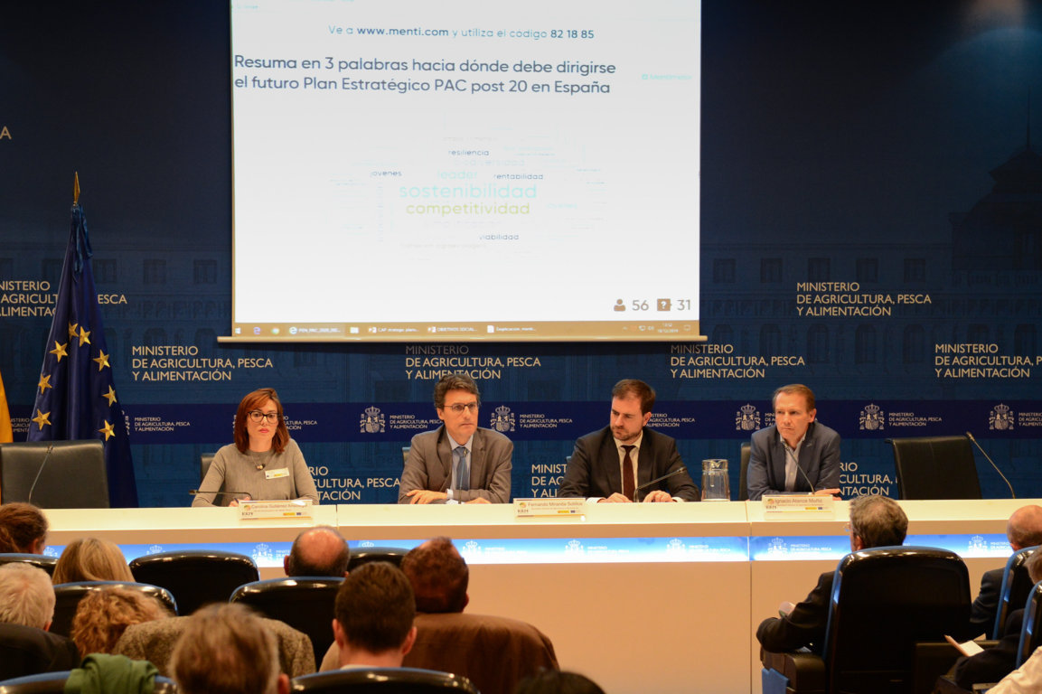 Más de cien organizaciones y asociaciones de la sociedad civil se implican en la planificación de la PAC post 2020