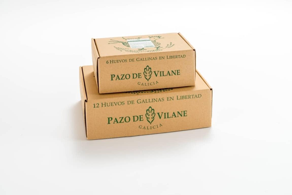 Pazo de Vilane gana una demanda por copiar su exitoso envase de huevos