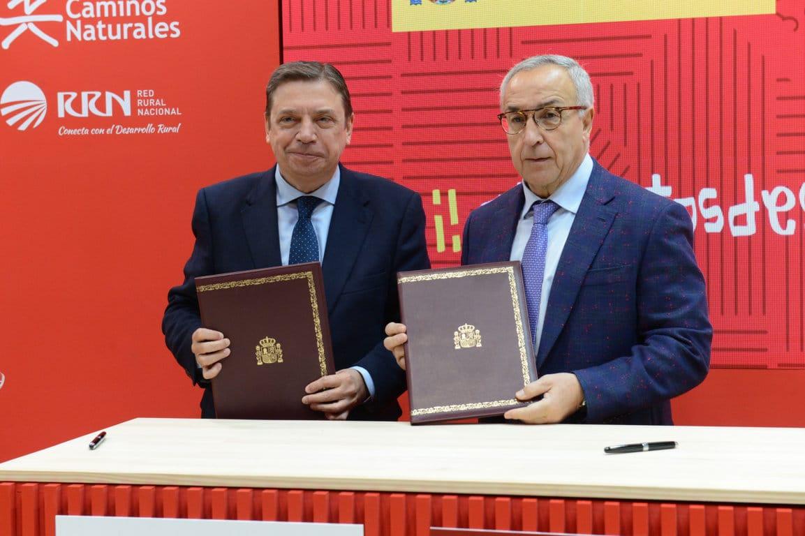 MAPA y el Comité Olímpico Español suscriben un acuerdo para promoción alimentaria
