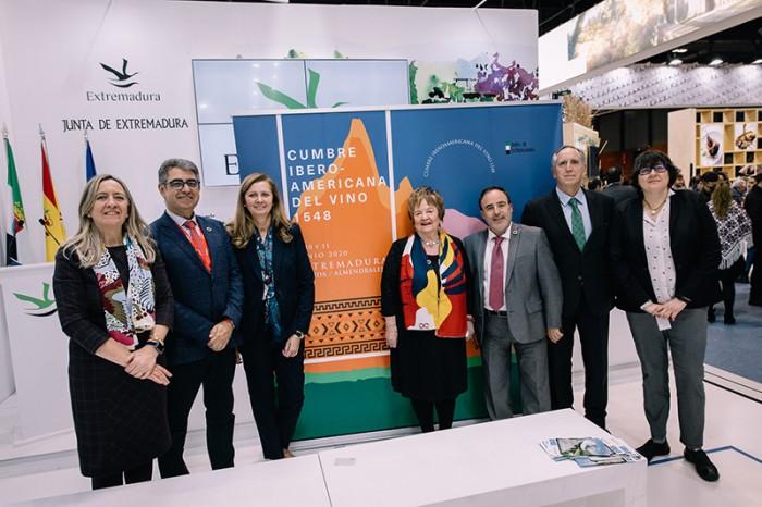 Extremadura acogerá en junio la Cumbre Iberoamericana del Vino 1548