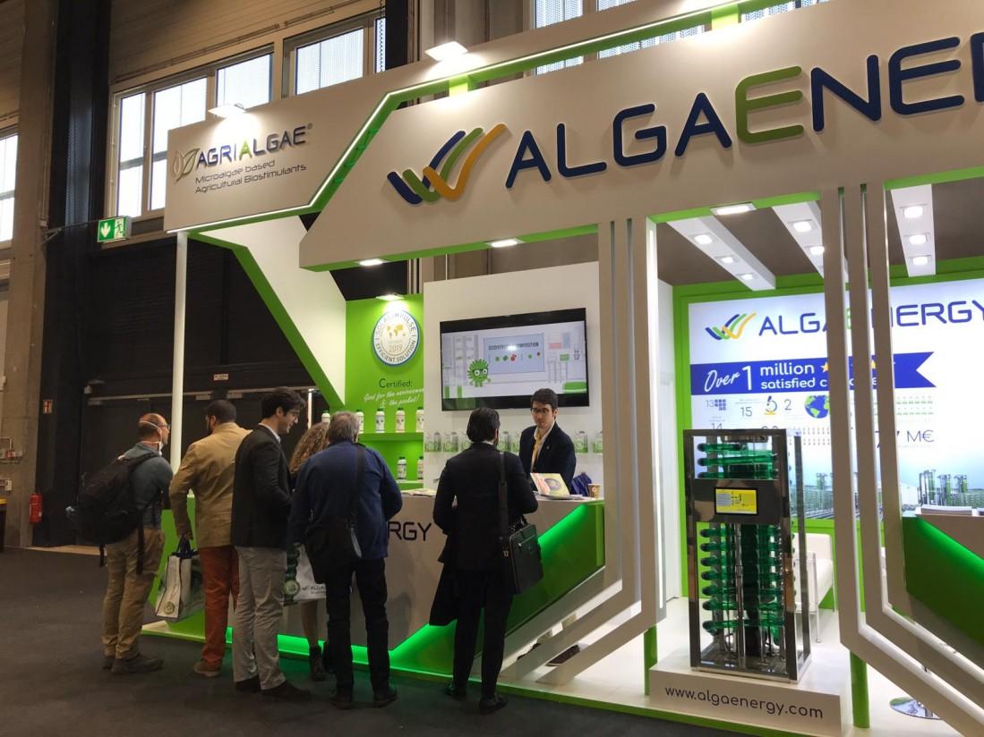 AlgaEnergy cierra con éxito su primera participación en Fruit Logistica