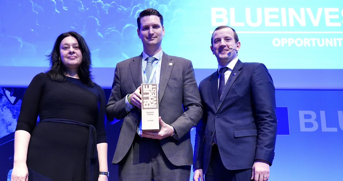 AlgaEnergy recibe el Premio BlueInvest – People's Choice