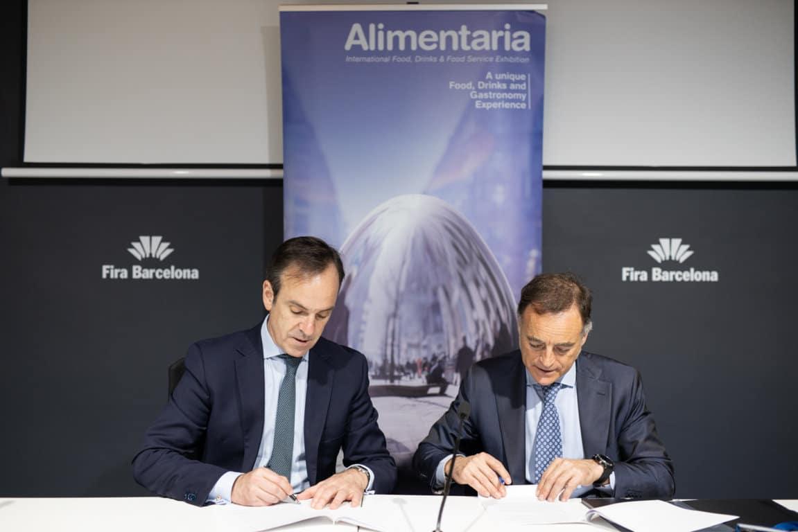 FIAB y Alimentaria renuevan su acuerdo de colaboración para la edición 2020