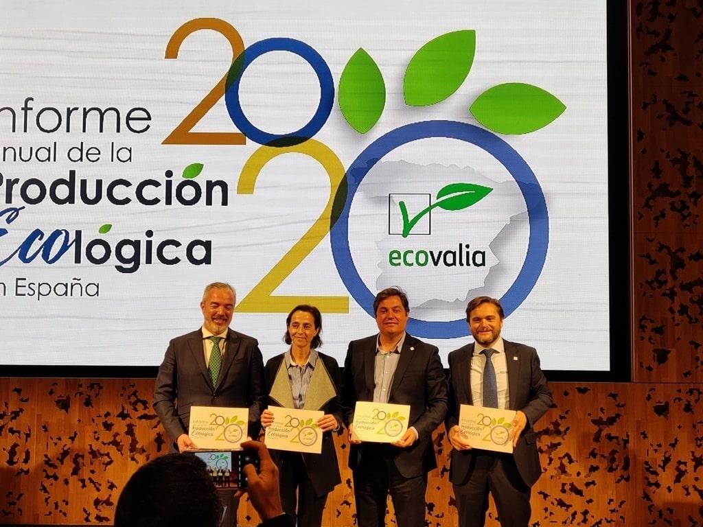 La producción ecológica en España ya supone 2.133 millones de euros en valor