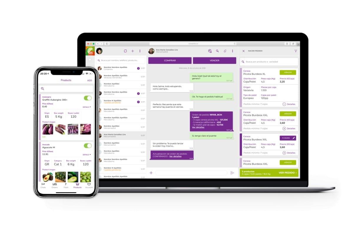 Consentio, la plataforma especializada en frutas y hortalizas, logra una nueva ronda de financiación