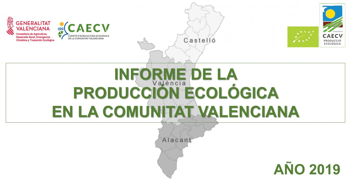 El sector ecológico en la Comunidad Valenciana continúa creciendo y alcanza los 518 M€ de volumen de negocio