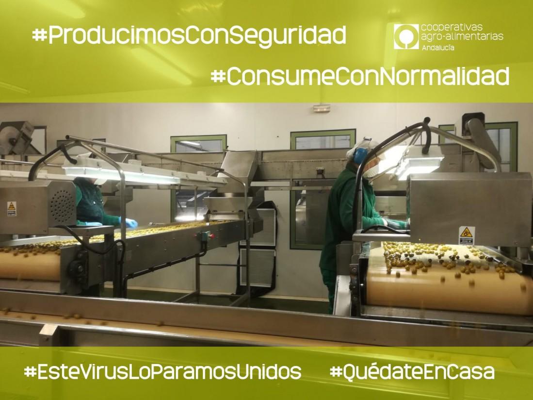 Cooperativas Agro-alimentarias de Andalucía lanza la campaña «Producimos con seguridad, consume con normalidad»
