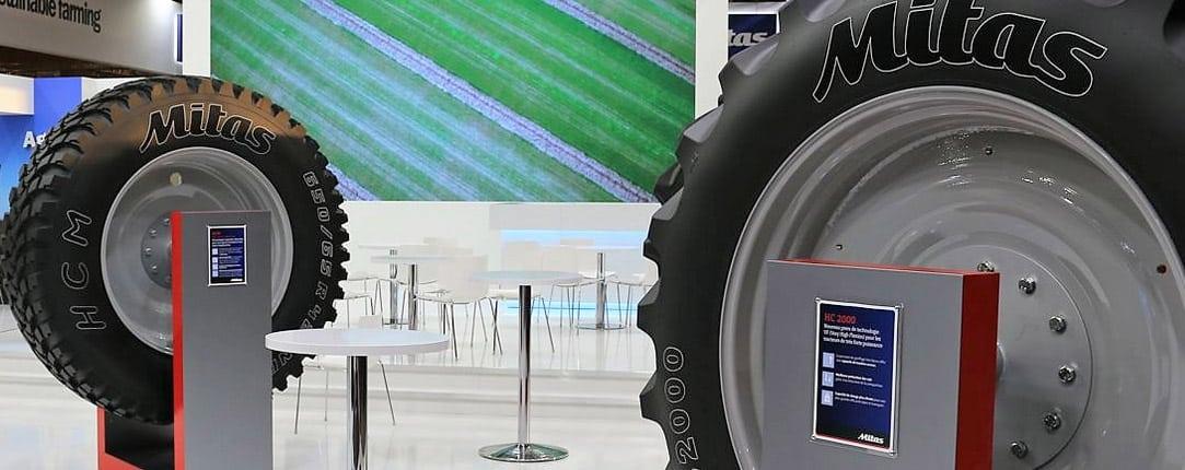 Cuatro nuevos neumáticos de Mitas en FIMA 2020