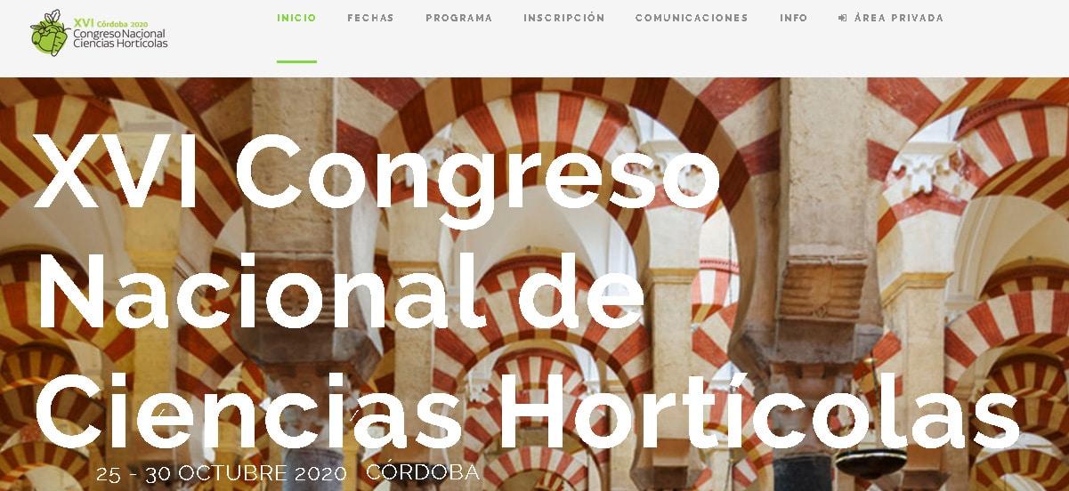 La Sociedad Española de Ciencias Hortícolas sigue adelante con su XVI Congreso Nacional