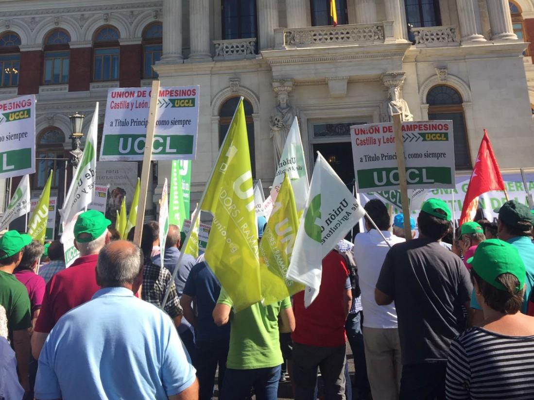 Unión de Uniones convoca el 26 de marzo a manifestarse ante el Ministerio de Agricultura