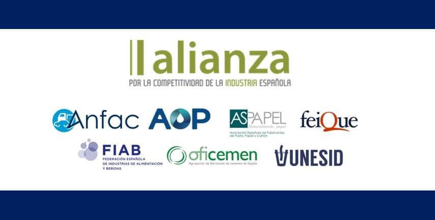 Covid-19: La Alianza por la Industria reclama un programa de medidas para recuperar la actividad económica