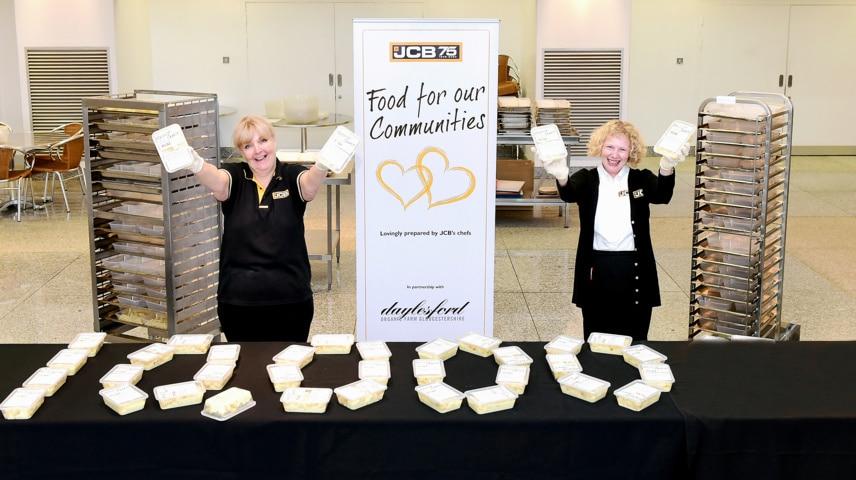 Covid-19: JCB amplía su reparto de comida entre los más necesitados