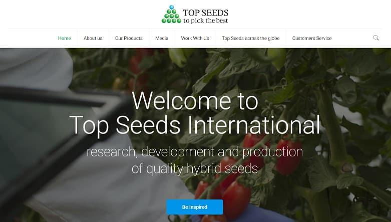 Top Seeds International estrena página web