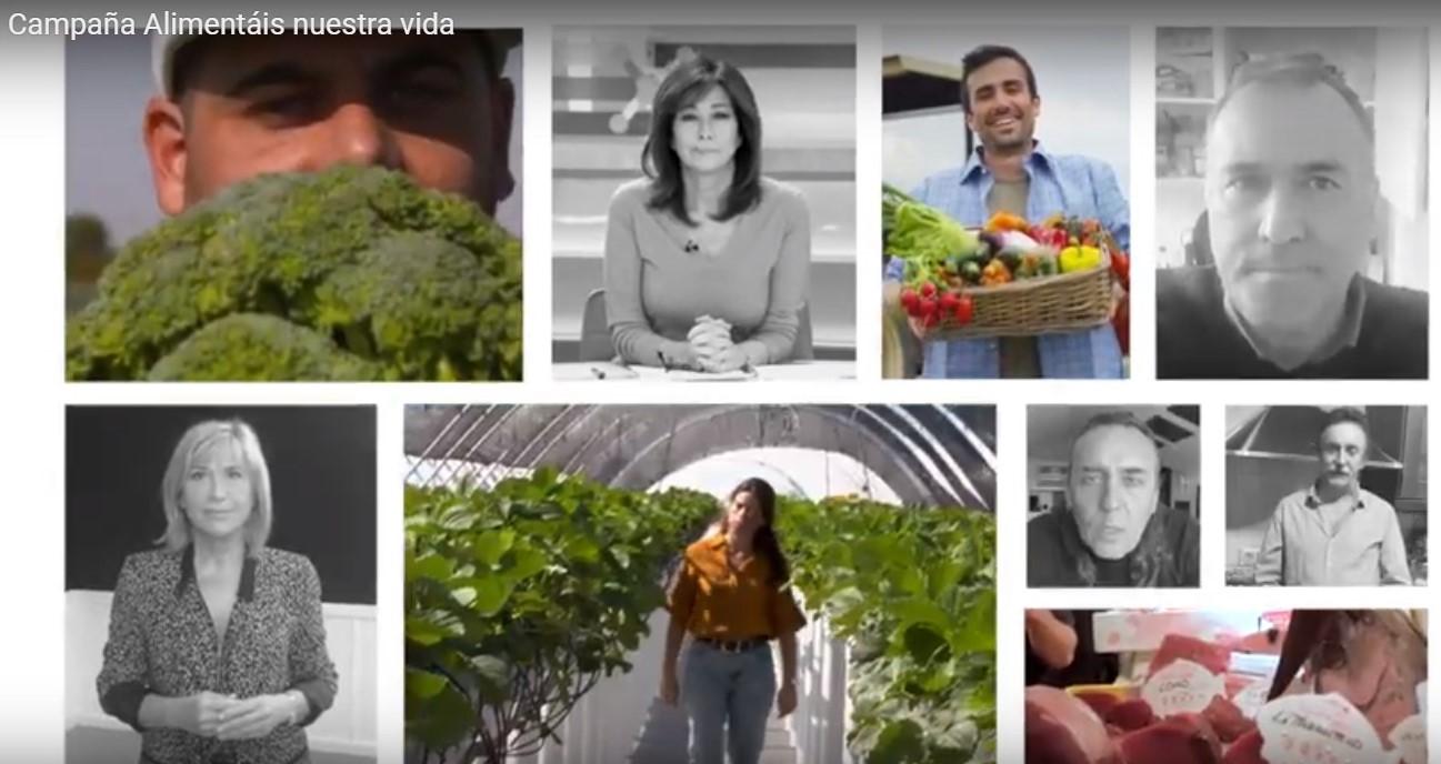 Inicio de la campaña #AlimentáisNuestraVida en apoyo al sector agroalimentario y pesquero