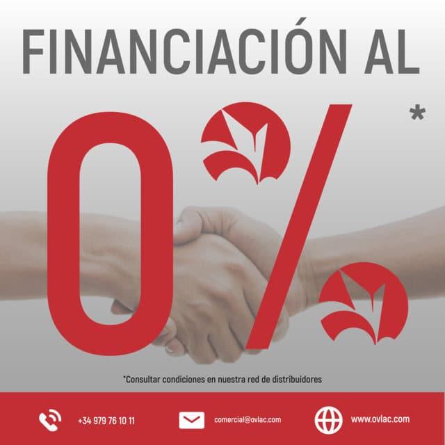 Ovlac ofrece financiación al 0% para la compra de nuevos equipos