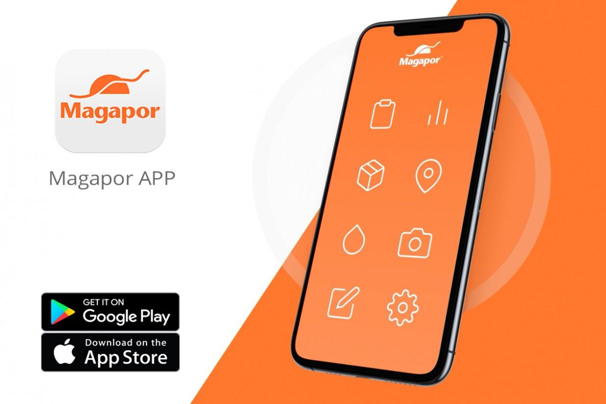 Magapor lanza su propia aplicación móvil
