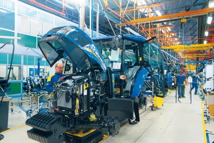 Covid-19: CNH Industrial espera tener todas sus fábricas operativas a finales de mes