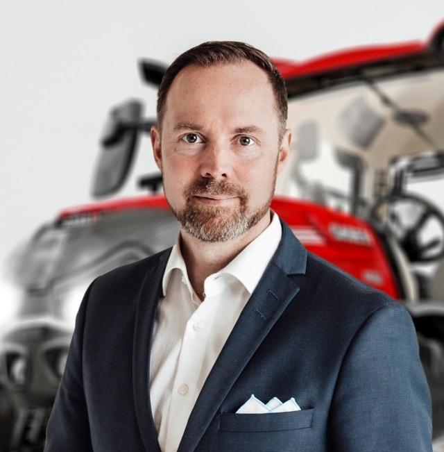 Ville Mansikkamäki, nuevo vicepresidente de Case IH para Europa