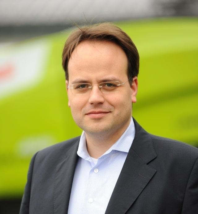 Christian Radons se incorpora a la Junta Ejecutiva de Claas como responsable global de Ventas y Servicio
