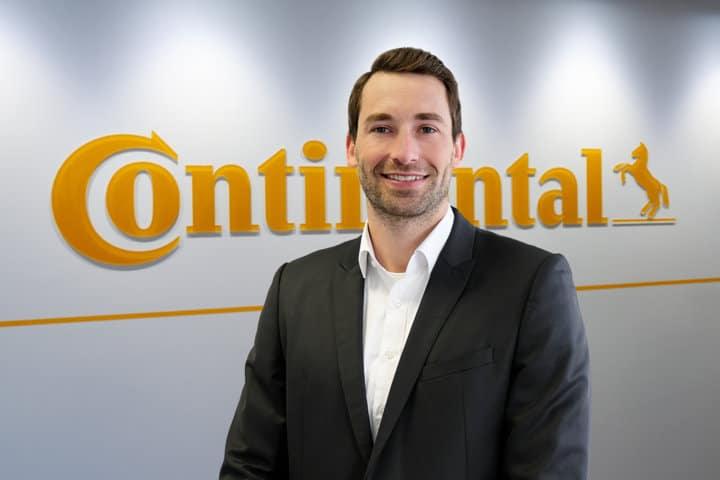 Benjamin Hübner, nuevo product line manager de neumáticos agrícolas en Continental