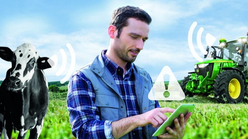 Herramientas de detección temprana de John Deere y Zoetis al servicio de agricultores y ganaderos