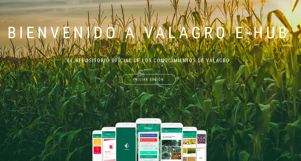Valagro e-Hub, más de 3.500 soluciones para la nutrición de los cultivos