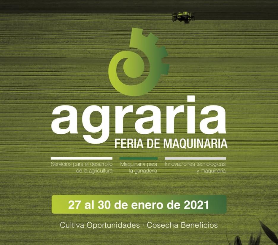 Agraria prepara su próxima edición para enero de 2021