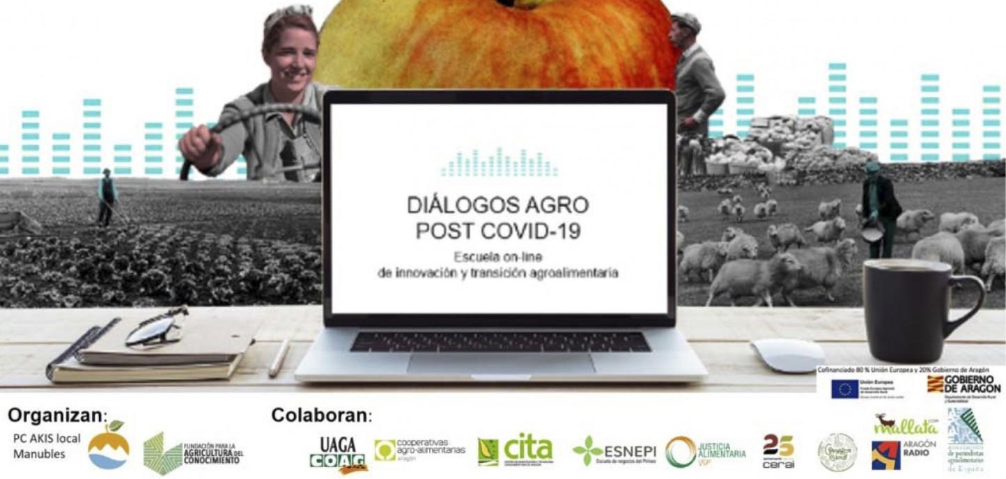 La Escuela On-Line de Innovación y Transición Agroalimentaria lanza sus Diálogos