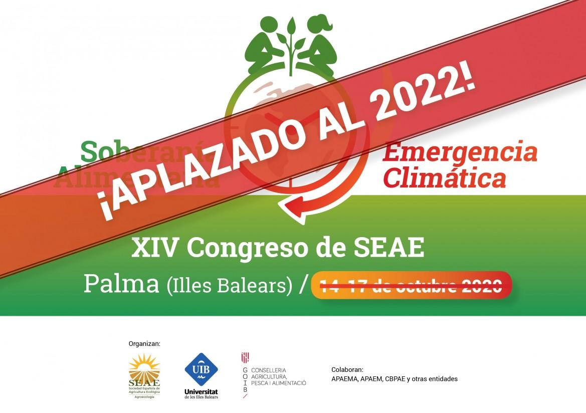 La SEAE aplaza su Congreso Internacional de Agricultura Ecológica hasta 2022