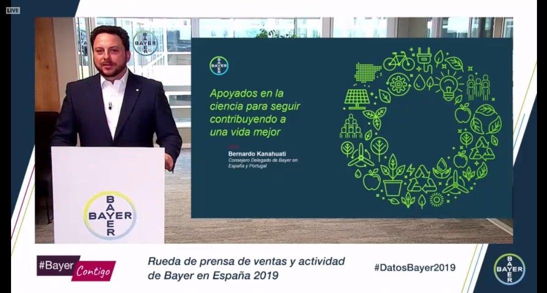 Bayer aumenta su facturación en España un 3,3% en 2019